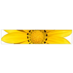 Transparent Flower Summer Yellow Flano Scarf (small) by Simbadda