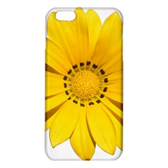 Transparent Flower Summer Yellow Iphone 6 Plus/6s Plus Tpu Case by Simbadda