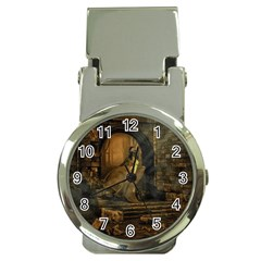 Woman Lost Model Alone Money Clip Watches by Simbadda