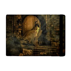 Woman Lost Model Alone Apple Ipad Mini Flip Case by Simbadda