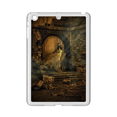 Woman Lost Model Alone Ipad Mini 2 Enamel Coated Cases by Simbadda