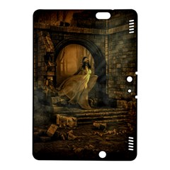 Woman Lost Model Alone Kindle Fire Hdx 8 9  Hardshell Case by Simbadda