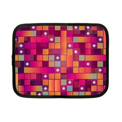 Abstract Background Colorful Netbook Case (small)  by Onesevenart