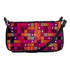 Abstract Background Colorful Shoulder Clutch Bags by Onesevenart