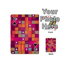 Abstract Background Colorful Playing Cards 54 (mini)  by Onesevenart