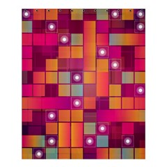 Abstract Background Colorful Shower Curtain 60  X 72  (medium)  by Onesevenart