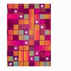 Abstract Background Colorful Large Garden Flag (two Sides) by Onesevenart
