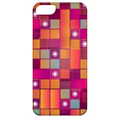 Abstract Background Colorful Apple Iphone 5 Classic Hardshell Case by Onesevenart