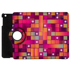 Abstract Background Colorful Apple Ipad Mini Flip 360 Case by Onesevenart