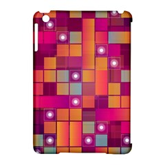 Abstract Background Colorful Apple Ipad Mini Hardshell Case (compatible With Smart Cover) by Onesevenart