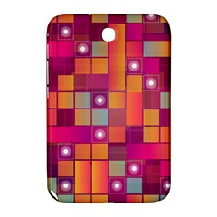 Abstract Background Colorful Samsung Galaxy Note 8 0 N5100 Hardshell Case  by Onesevenart