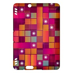 Abstract Background Colorful Kindle Fire Hdx Hardshell Case by Onesevenart