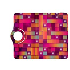 Abstract Background Colorful Kindle Fire Hdx 8 9  Flip 360 Case by Onesevenart