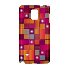 Abstract Background Colorful Samsung Galaxy Note 4 Hardshell Case by Onesevenart