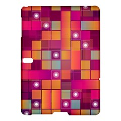 Abstract Background Colorful Samsung Galaxy Tab S (10 5 ) Hardshell Case  by Onesevenart