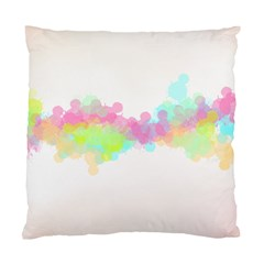 Abstract Color Pattern Colorful Standard Cushion Case (two Sides) by Onesevenart