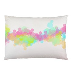 Abstract Color Pattern Colorful Pillow Case (two Sides) by Onesevenart