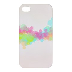 Abstract Color Pattern Colorful Apple Iphone 4/4s Hardshell Case by Onesevenart