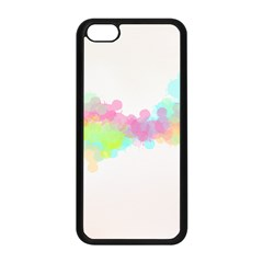 Abstract Color Pattern Colorful Apple Iphone 5c Seamless Case (black) by Onesevenart