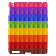 Abstract Pattern Background Apple Ipad 3/4 Hardshell Case by Onesevenart