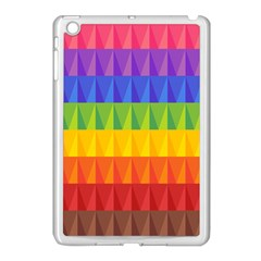Abstract Pattern Background Apple Ipad Mini Case (white) by Onesevenart