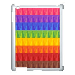 Abstract Pattern Background Apple Ipad 3/4 Case (white) by Onesevenart