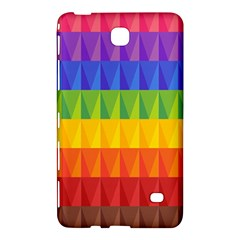 Abstract Pattern Background Samsung Galaxy Tab 4 (8 ) Hardshell Case  by Onesevenart