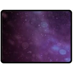 Abstract Purple Pattern Background Fleece Blanket (large)  by Onesevenart