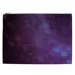 Abstract Purple Pattern Background Cosmetic Bag (xxl)  by Onesevenart