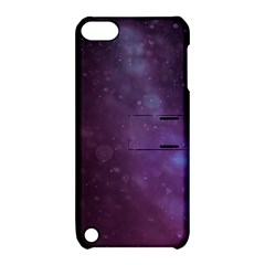 Abstract Purple Pattern Background Apple Ipod Touch 5 Hardshell Case With Stand by Onesevenart