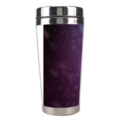 Abstract Purple Pattern Background Stainless Steel Travel Tumblers by Onesevenart