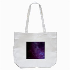 Abstract Purple Pattern Background Tote Bag (white) by Onesevenart