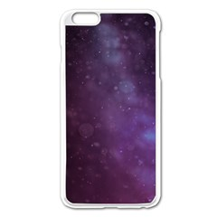 Abstract Purple Pattern Background Apple Iphone 6 Plus/6s Plus Enamel White Case by Onesevenart