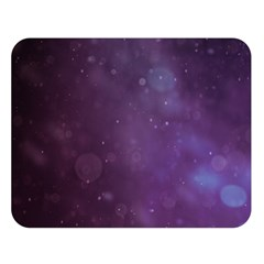 Abstract Purple Pattern Background Double Sided Flano Blanket (large)  by Onesevenart