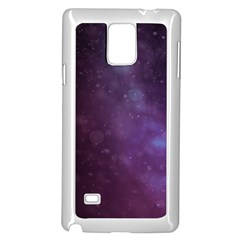 Abstract Purple Pattern Background Samsung Galaxy Note 4 Case (white) by Onesevenart