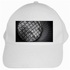 Architecture Roof Structure Modern White Cap by Onesevenart