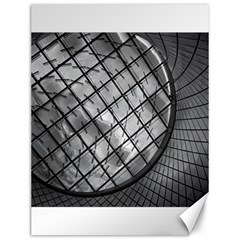 Architecture Roof Structure Modern Canvas 12  X 16   by Onesevenart