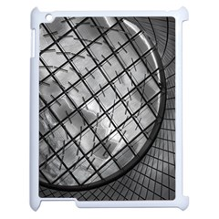 Architecture Roof Structure Modern Apple Ipad 2 Case (white) by Onesevenart