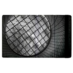 Architecture Roof Structure Modern Apple Ipad 2 Flip Case by Onesevenart