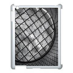 Architecture Roof Structure Modern Apple Ipad 3/4 Case (white) by Onesevenart