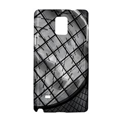 Architecture Roof Structure Modern Samsung Galaxy Note 4 Hardshell Case by Onesevenart
