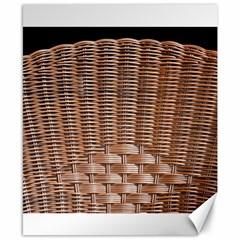 Armchair Folder Canework Braiding Canvas 8  X 10  by Onesevenart