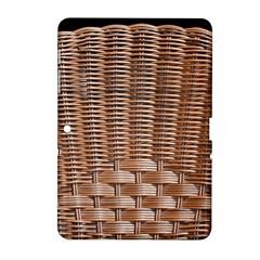 Armchair Folder Canework Braiding Samsung Galaxy Tab 2 (10 1 ) P5100 Hardshell Case  by Onesevenart