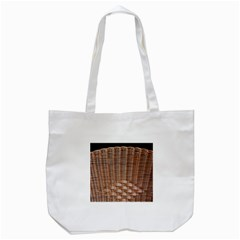 Armchair Folder Canework Braiding Tote Bag (white) by Onesevenart