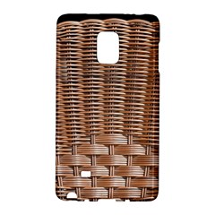 Armchair Folder Canework Braiding Galaxy Note Edge by Onesevenart