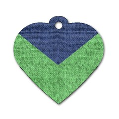 Arrow Texture Background Pattern Dog Tag Heart (one Side) by Onesevenart