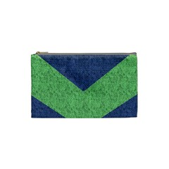 Arrow Texture Background Pattern Cosmetic Bag (small)  by Onesevenart