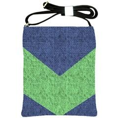 Arrow Texture Background Pattern Shoulder Sling Bags by Onesevenart