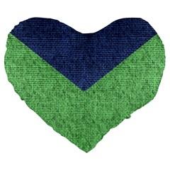 Arrow Texture Background Pattern Large 19  Premium Heart Shape Cushions by Onesevenart