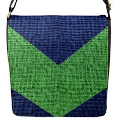 Arrow Texture Background Pattern Flap Messenger Bag (s) by Onesevenart